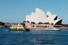 Opernhaus von Darling Harbour aus