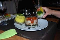 Franz. Essen in Deshaies