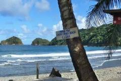 Strand in Dominica