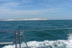 Engl Küste entfernt sich