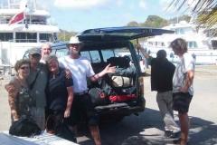 Abfahrt in Antigua