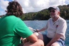 Einfahrt Marigot Bay