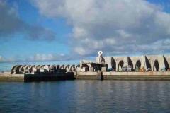 Das Hafen-Bollwerk