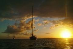 Sonnenuntergang mit RedCat