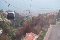 Mit der Seilbahn über Funchal