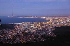 10. Kapstadt vom Tafelberg aus