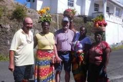 Gewürzfrauen auf Grenada
