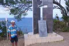 Denkmal für letzte Kariben