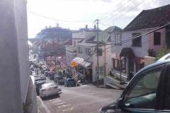 St. George, Grenada - steile Str.