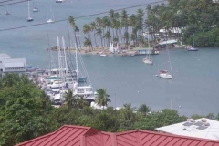 Marigot Bay von oben